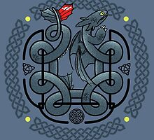 The Dragon's Knot by beware1984