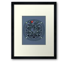 The Dragon's Knot Framed Print