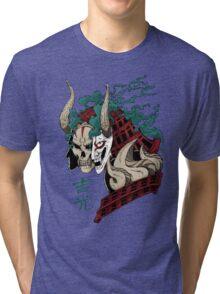 吉光 Yoshimitsu, Leader Of The Honorable Manji Clan Tri-blend T-Shirt