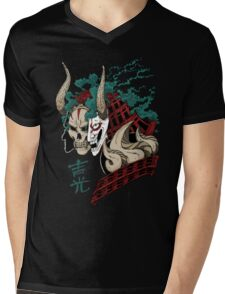 吉光 Yoshimitsu, Leader Of The Honorable Manji Clan Mens V-Neck T-Shirt