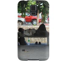 homeless in the old city Samsung Galaxy Case/Skin