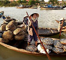 Fish Market #3 - Hoi An - Vietnam by Malcolm Heberle