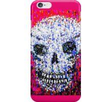 pink grim iPhone Case/Skin