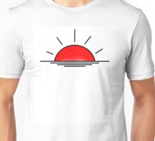 Lets watch the sunrise in 2d Unisex T-Shirt