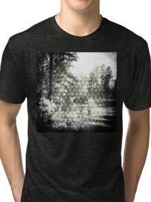 Digital Landscape #3 Tri-blend T-Shirt