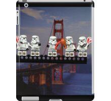 Paleo Stormtroopers over Golden Gate Bridge iPad Case/Skin