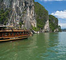 Ha Long Bay by Matthew Stewart