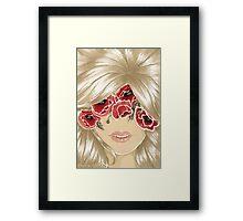 Flower mind... Framed Print