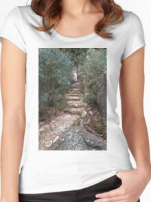 Path to the Lookout Women's Fitted Scoop T-Shirt