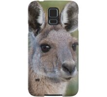 Eastern Grey Kangaroo Portrait Samsung Galaxy Case/Skin