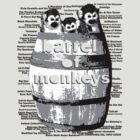Barrel of Monkeys - 1 by Greg Tippett