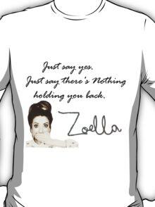 Zoella - Just say yes! T-Shirt