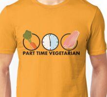 part time vegetarian Unisex T-Shirt