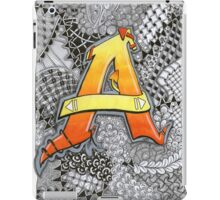 The Alphabet Collection - Letter A iPad Case/Skin