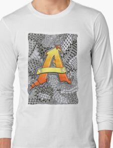 The Alphabet Collection - Letter A Long Sleeve T-Shirt