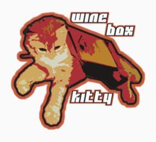 Wine Box Kitty II by Justin Stephens
