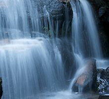 Blue Mountains Waterfall 5 by Mark Williamson