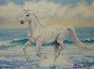 Summer Unicorn by louisegreen