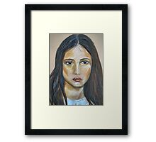 Sad Sally Framed Print