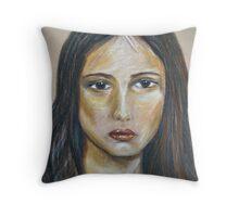 Sad Sally Throw Pillow