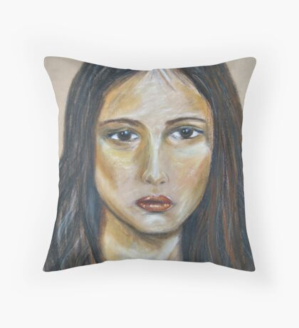 Sad Sally Throw Pillow
