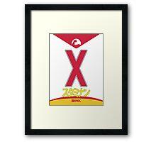 Staminan X Framed Print