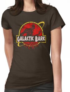 Galactic Bark Womens Fitted T-Shirt