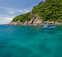 Emerald Water Of Koh Tao by MiImages