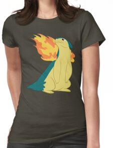 Pokemon Favorite #1: Typhlosion Womens Fitted T-Shirt