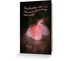 Friendship Greeting Card