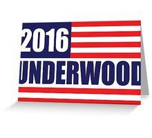 underwood 2016 Greeting Card