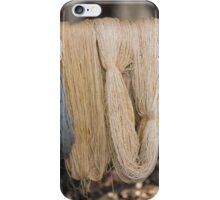 skeins of wool iPhone Case/Skin
