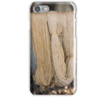 skeins of wool iPhone Case/Skin