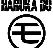 Harüka Dü - Mo Logo - Black by FoniMoni