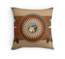 Itsee'tsoli - Red Tailed Hawk Throw Pillow
