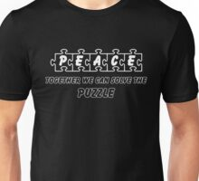 PEACE --Together We Can Solve the Puzzle Unisex T-Shirt
