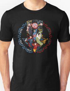 Abenders Assemble! Unisex T-Shirt