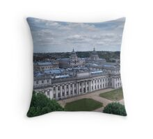 Greenwich College Throw Pillow