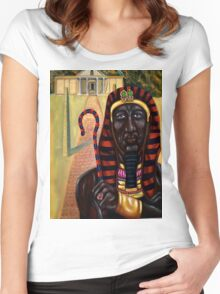 Taharqa Women's Fitted Scoop T-Shirt