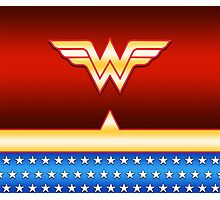 Wonder Woman Uniform Photographic Print