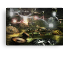War Between The Worlds Canvas Print