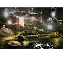 War Between The Worlds Photographic Print