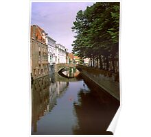 Bruges Canal Again 2002 Poster