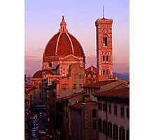 The Duomo at Dusk Photographic Print