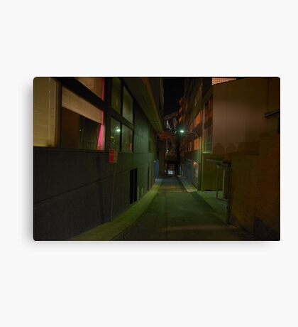 Silence In The City - Moods Of A City Canvas Print