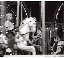 Merry-go-round by Catie Atkinson