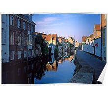 Bruges Canal 2002 Poster