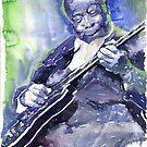 Jazz B B King 02 by Yuriy Shevchuk
