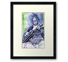 Jazz B B King 02 Framed Print