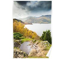 Ullswater from Long Crag Poster